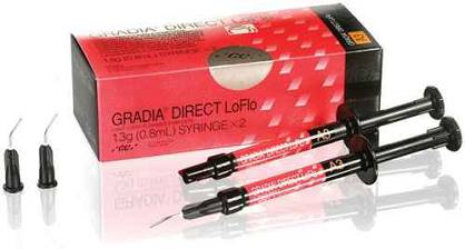 Gradia Direct LoFlo / 2 x 1,3g (0,8ml)